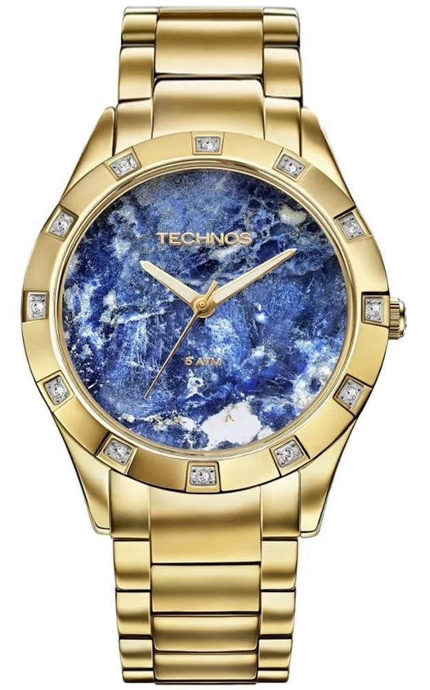 Relógio Technos Feminino Dourado - Stone Collection - 2033AA/4A