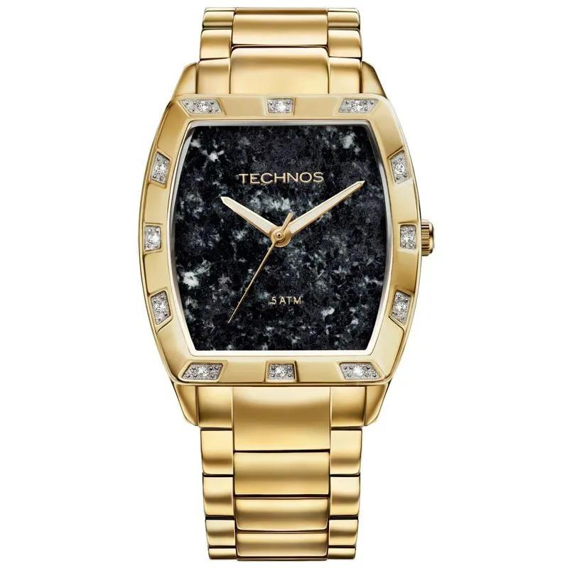 Relógio Technos Feminino Dourado - Stone Collection - 2033AC/4P