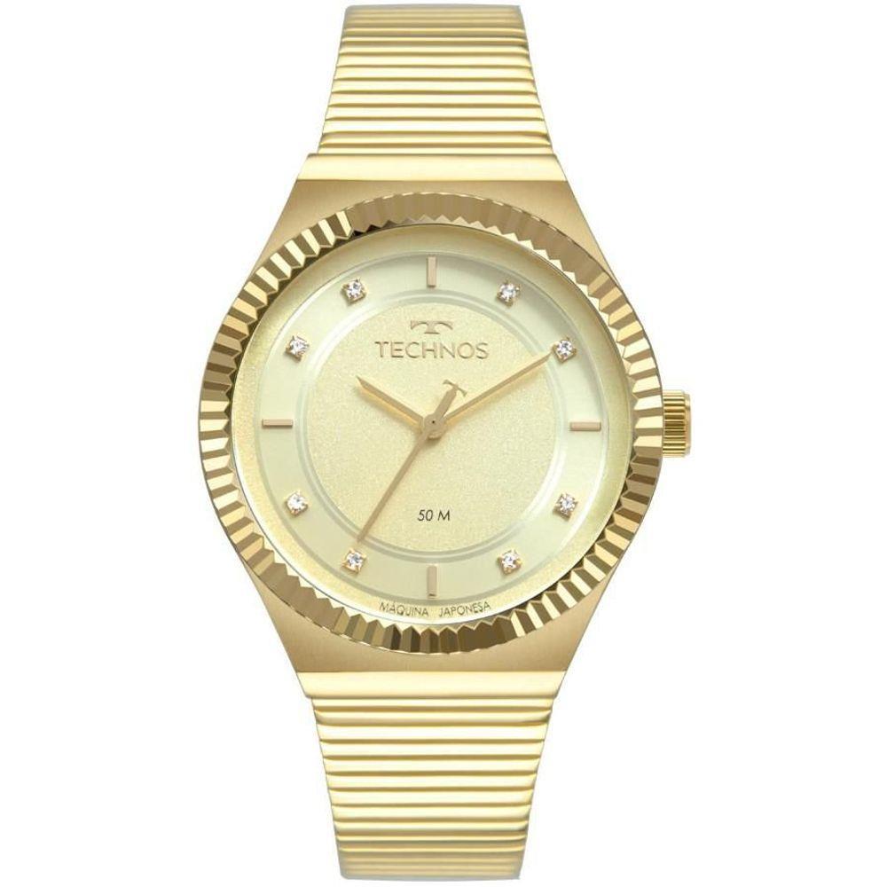 Relógio Technos Feminino Dourado - Trend - 2035MRU/4X