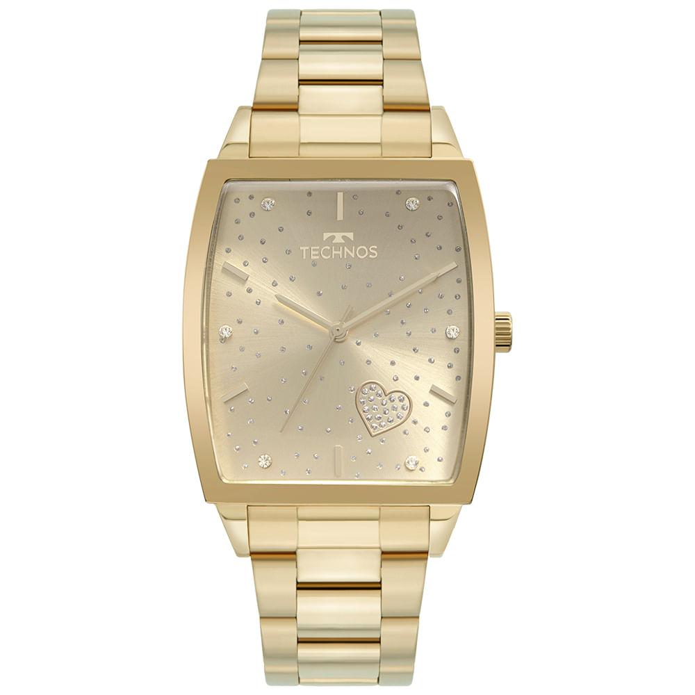 Relógio Technos Feminino Dourado - Trend - 2035MUJ/1X