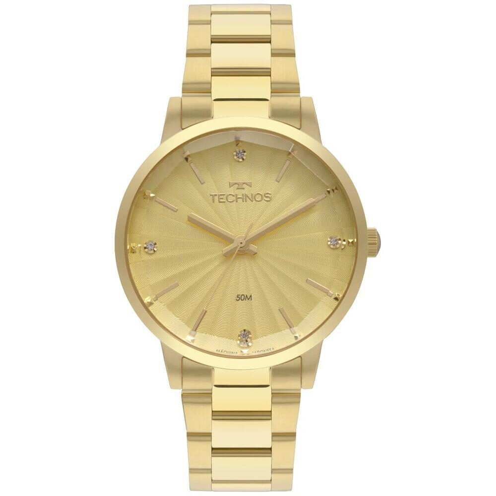 Relógio Technos Feminino Dourado - Trend - 2036MKV/4X
