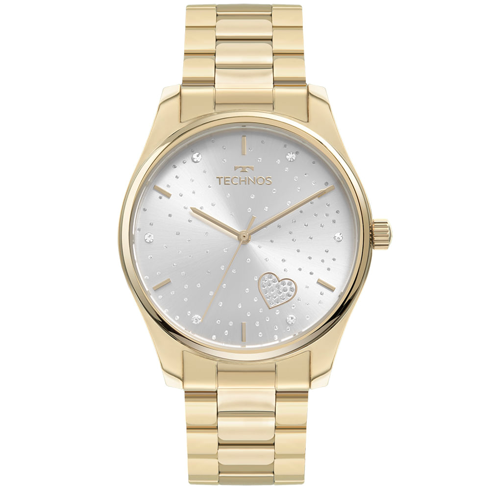 Relógio Technos Feminino Dourado - Trend - 2036MOB/1K
