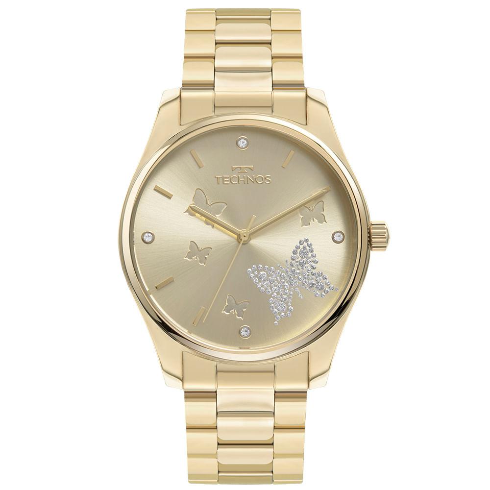 Relógio Technos Feminino Dourado - Trend - 2036MOF/1X