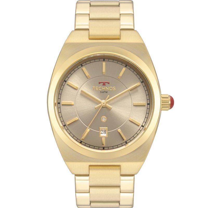 Relógio Technos Feminino Dourado - Trend - 2117LAT/4C