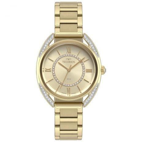 Relógio Technos Feminino Elegance Dourado
