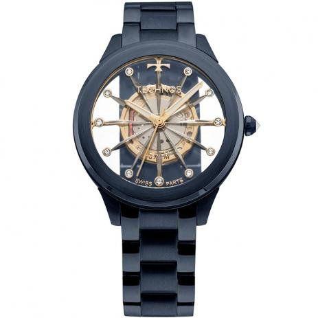 Relógio Technos Feminino Essence Azul