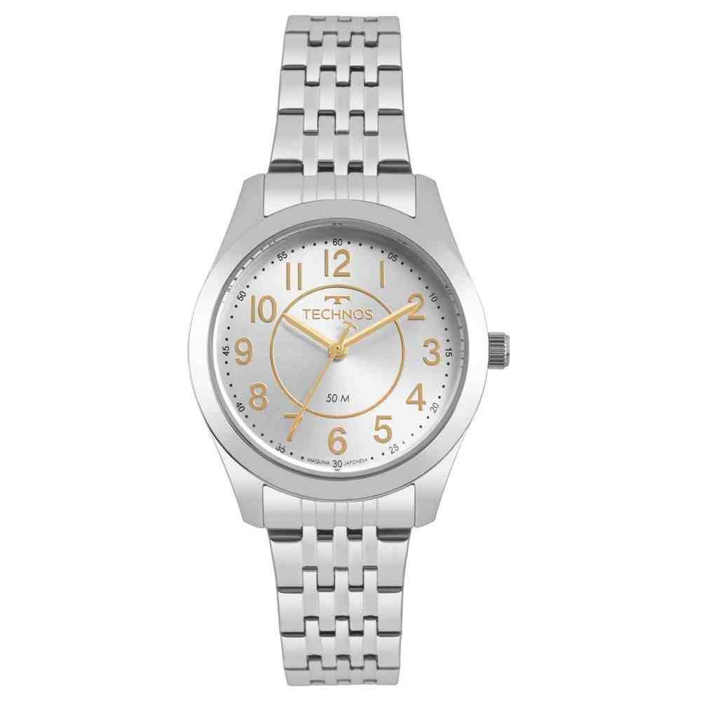 Relógio Technos Feminino Prata - Boutique - 2035MJES/1B