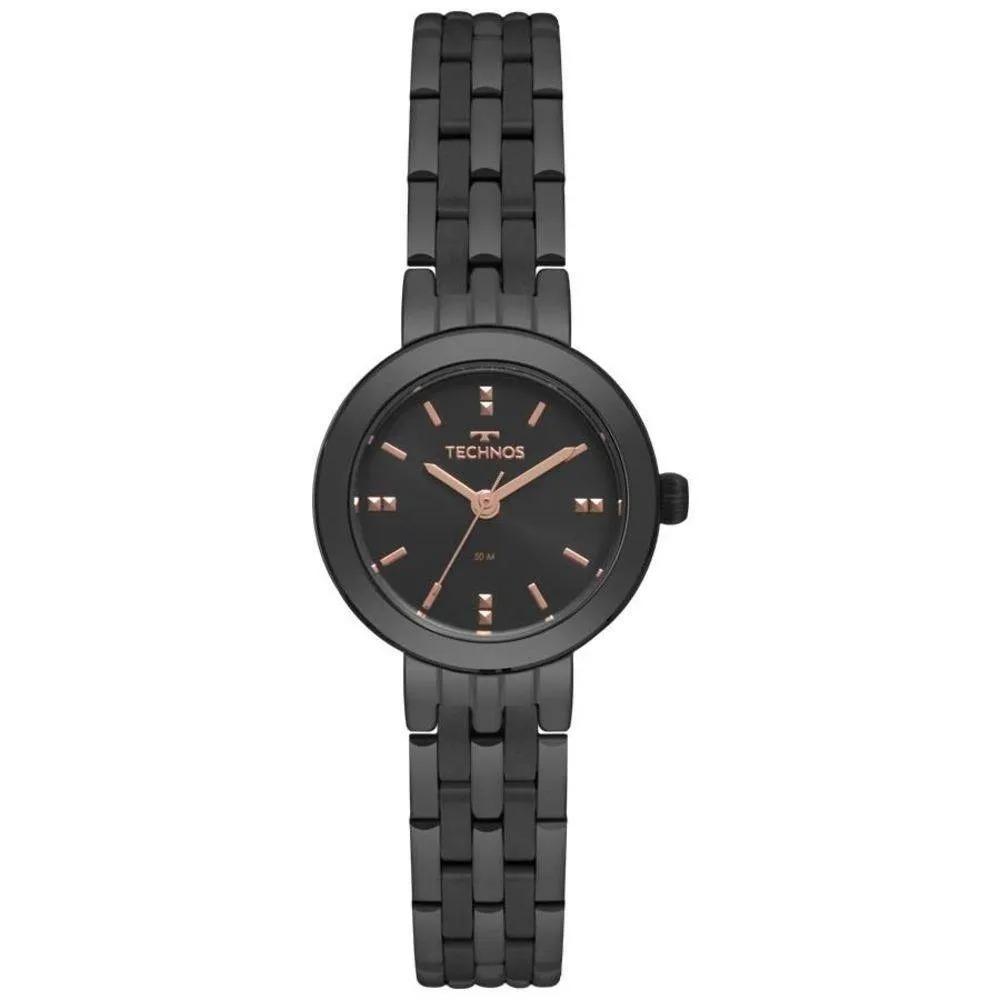 Relógio Technos Feminino Preto - Elegance Dress - 2035MQN/4P