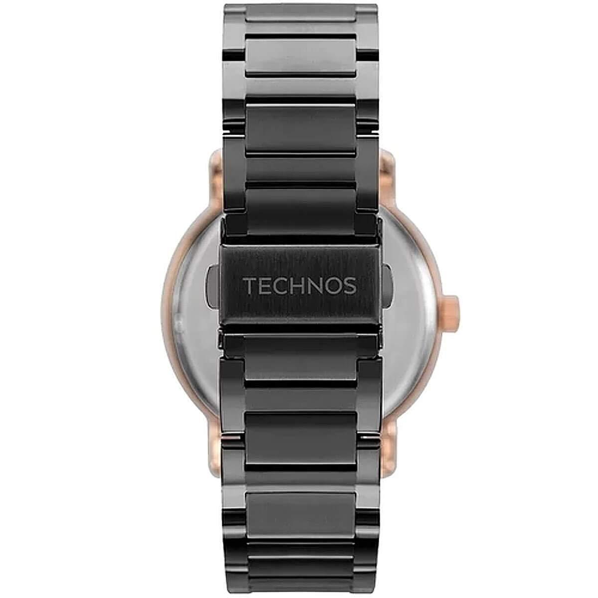 Relógio Technos Feminino Preto  - Trend - 2039CP/5P