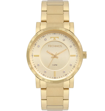 Relógio Technos Feminino Trend Dourado