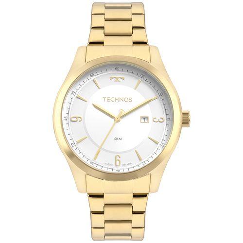 Relógio Technos Masculino Dourado - Steel - 2117LBRS/4K