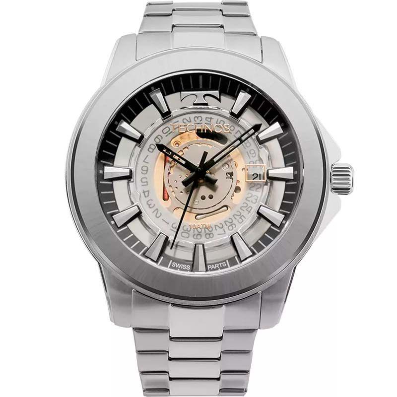 Relógio Technos Masculino Prata - Legacy Suiço - F06111AB/1W