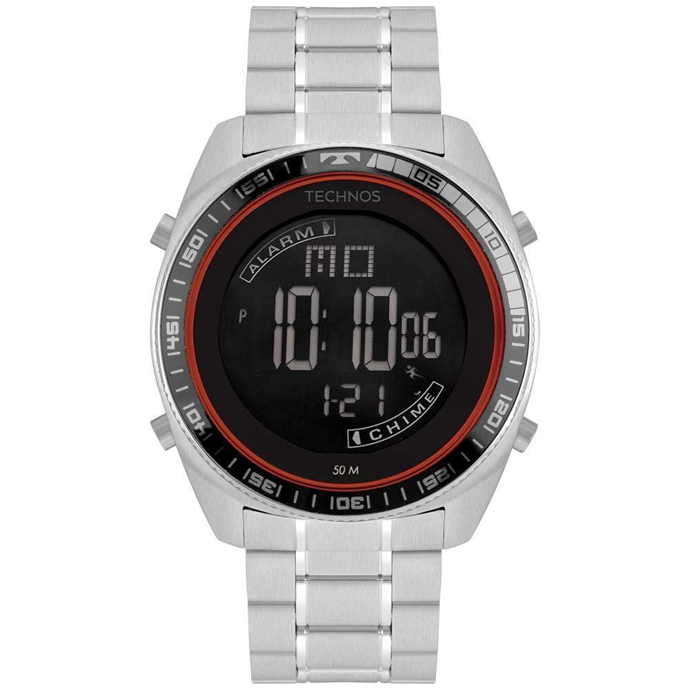 Relógio Technos  Masculino  Prata - Performance Racer - BJ3373AB/1P