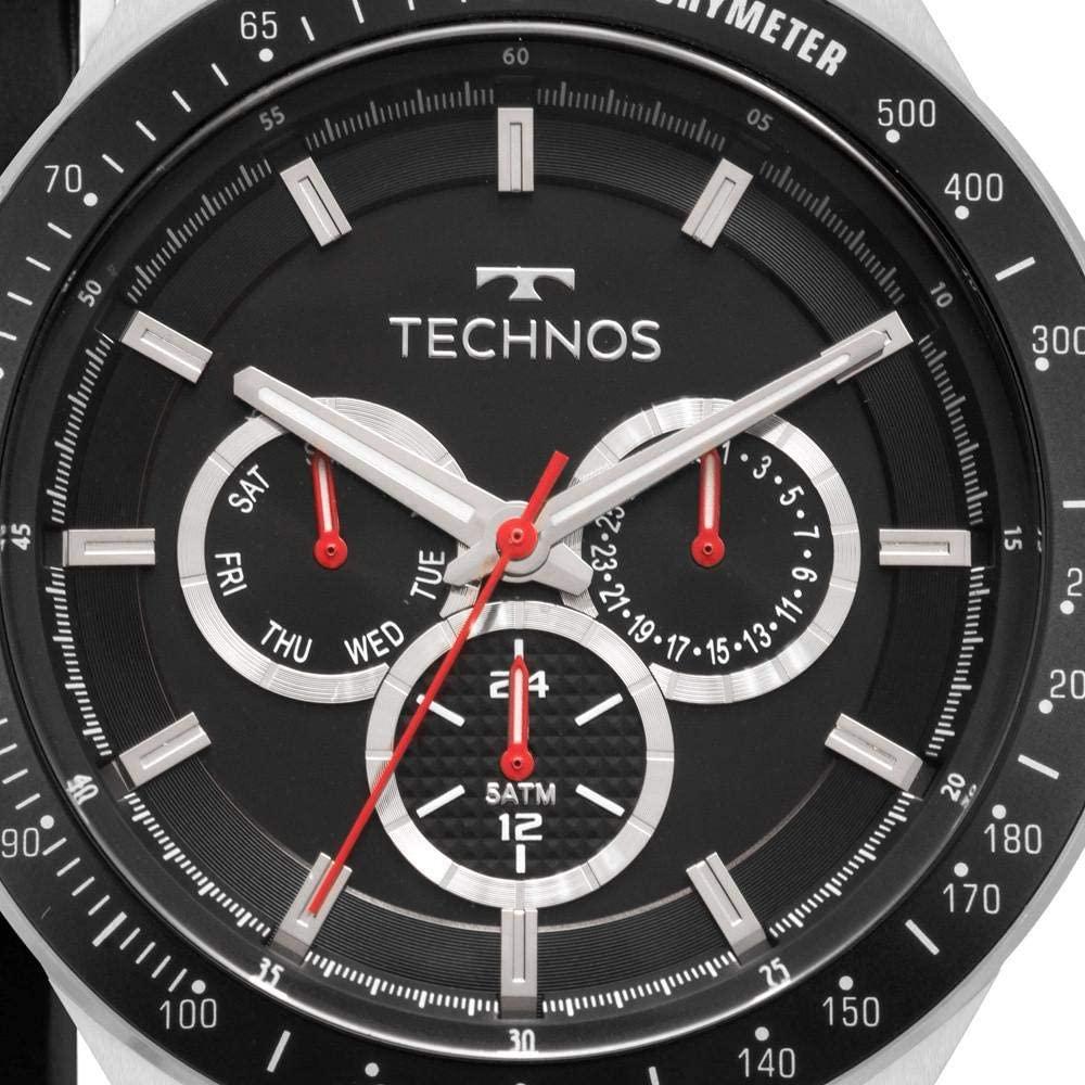 Relógio Technos Masculino Prata - Skaymaster - 6P29AJY/T1P
