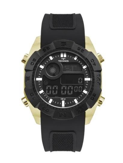 Relógio Technos Masculino Preto Digital