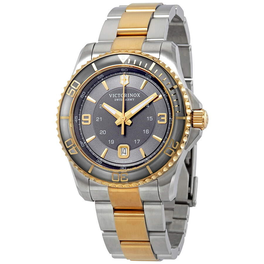 Relógio Victorinox  Cinza - Maverick - 241825