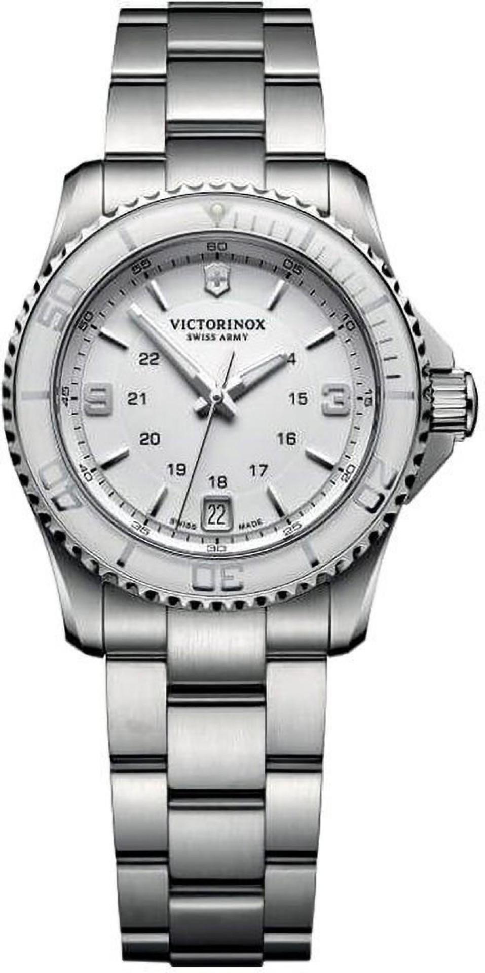 Relógio Victorinox  Feminino Branco - Maverick Small - 241699