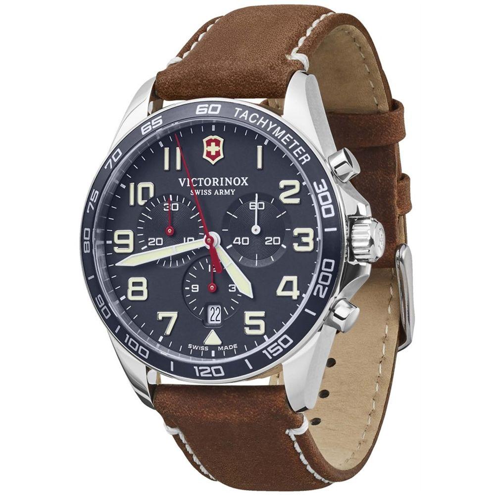Relógio Victorinox Masculino Azul - Fieldforce Chronograph - 241854
