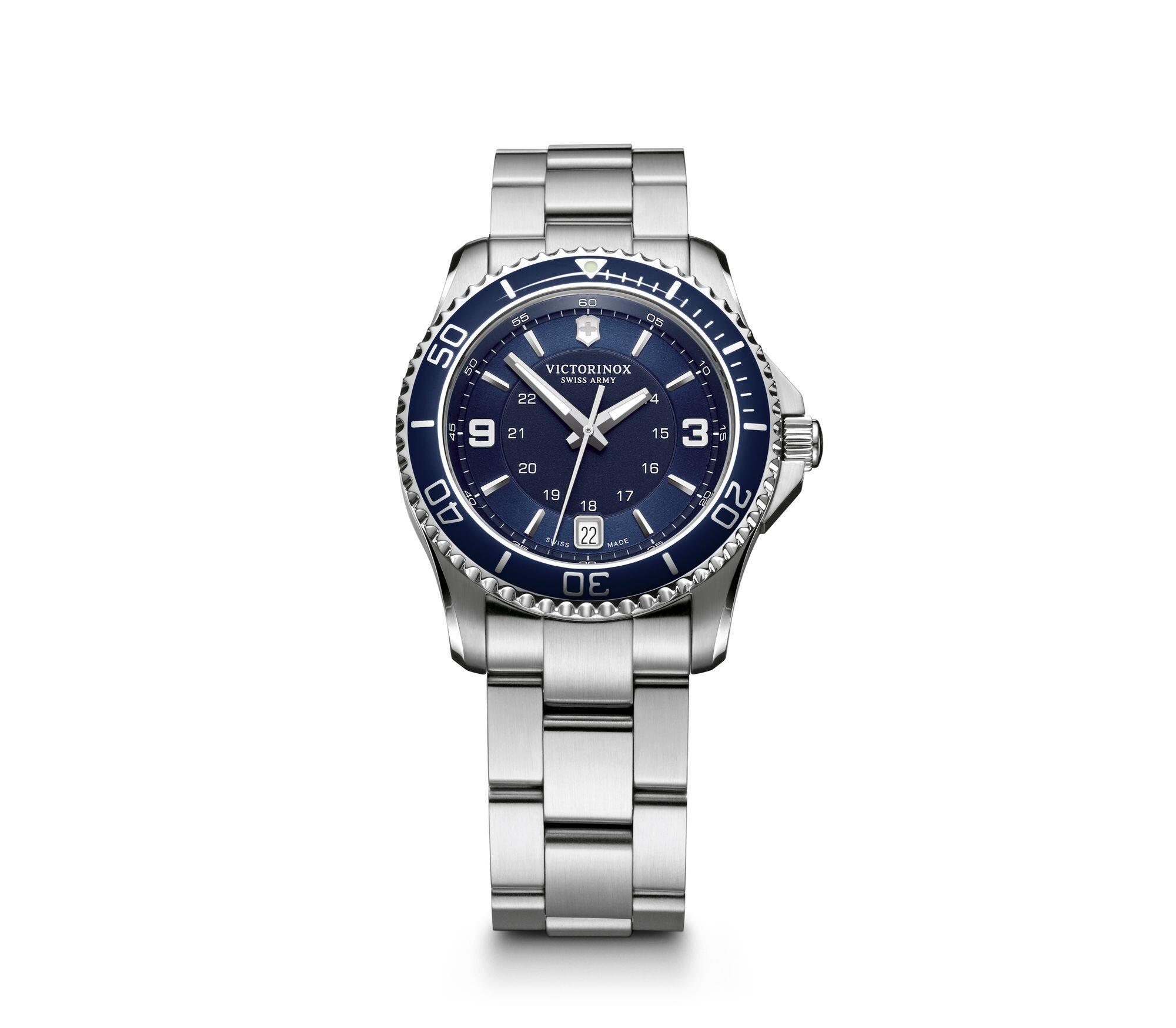 Relógio Victorinox  Masculino Azul - Maverick - 241609