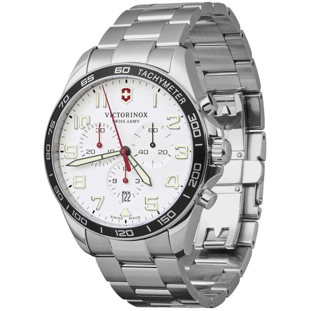 Relógio Victorinox Masculino Branco - Fieldforce Chronograph - 241856