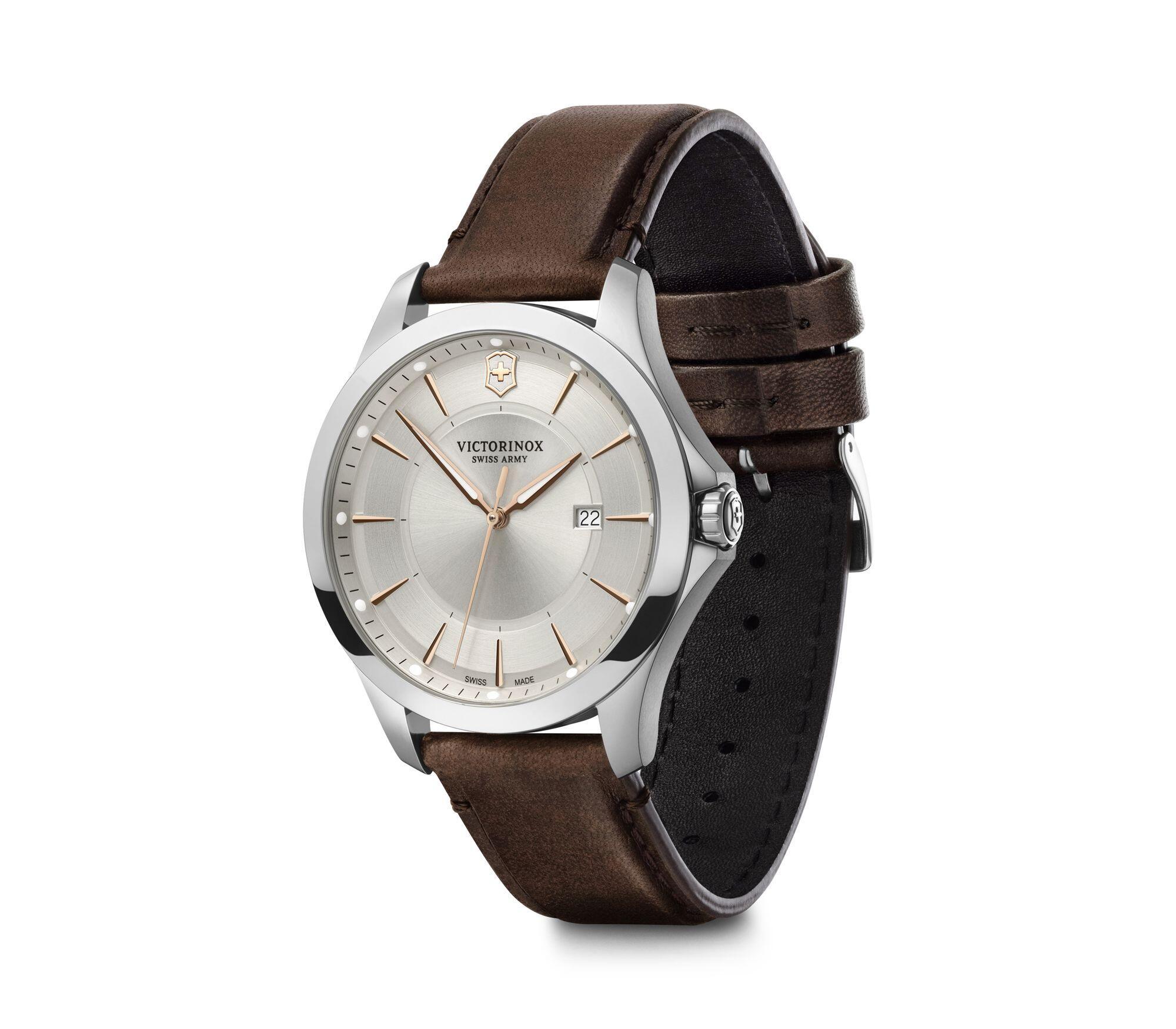 Relógio Victorinox Masculino Branco Silver - Alliance - 241907