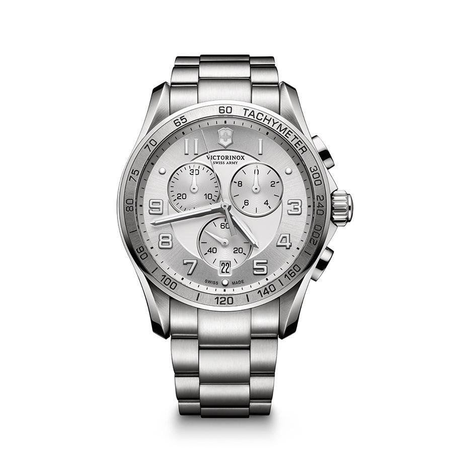 Relógio Victorinox Masculino Branco - Swiss Army  Chrono - 241654