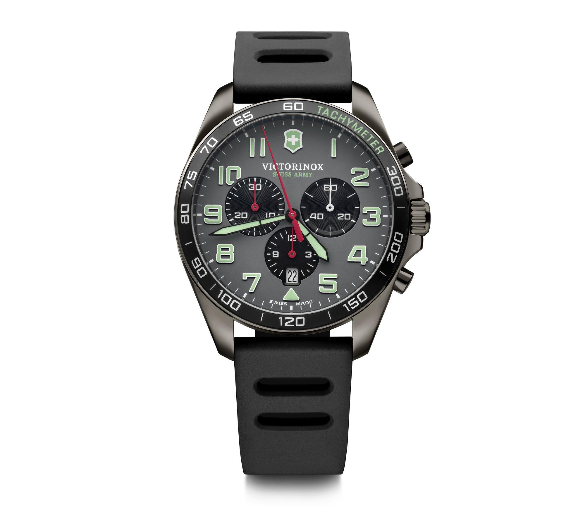 Relógio Victorinox Masculino Cinza - Fieldforce Sport Chrono - 241891