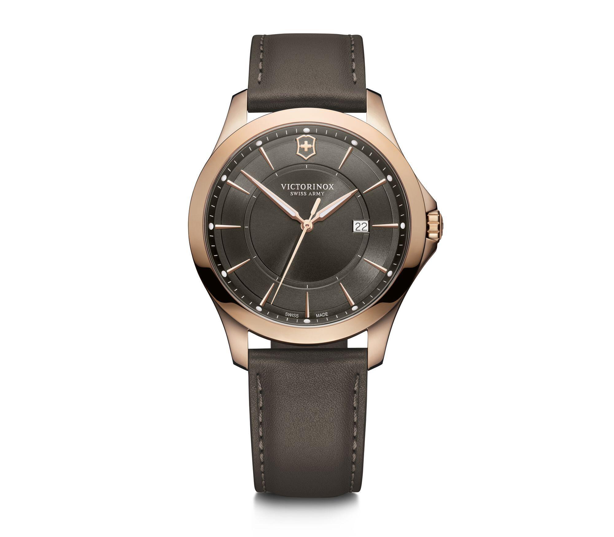 Relógio Victorinox Masculino Marrom - Alliance - 241908