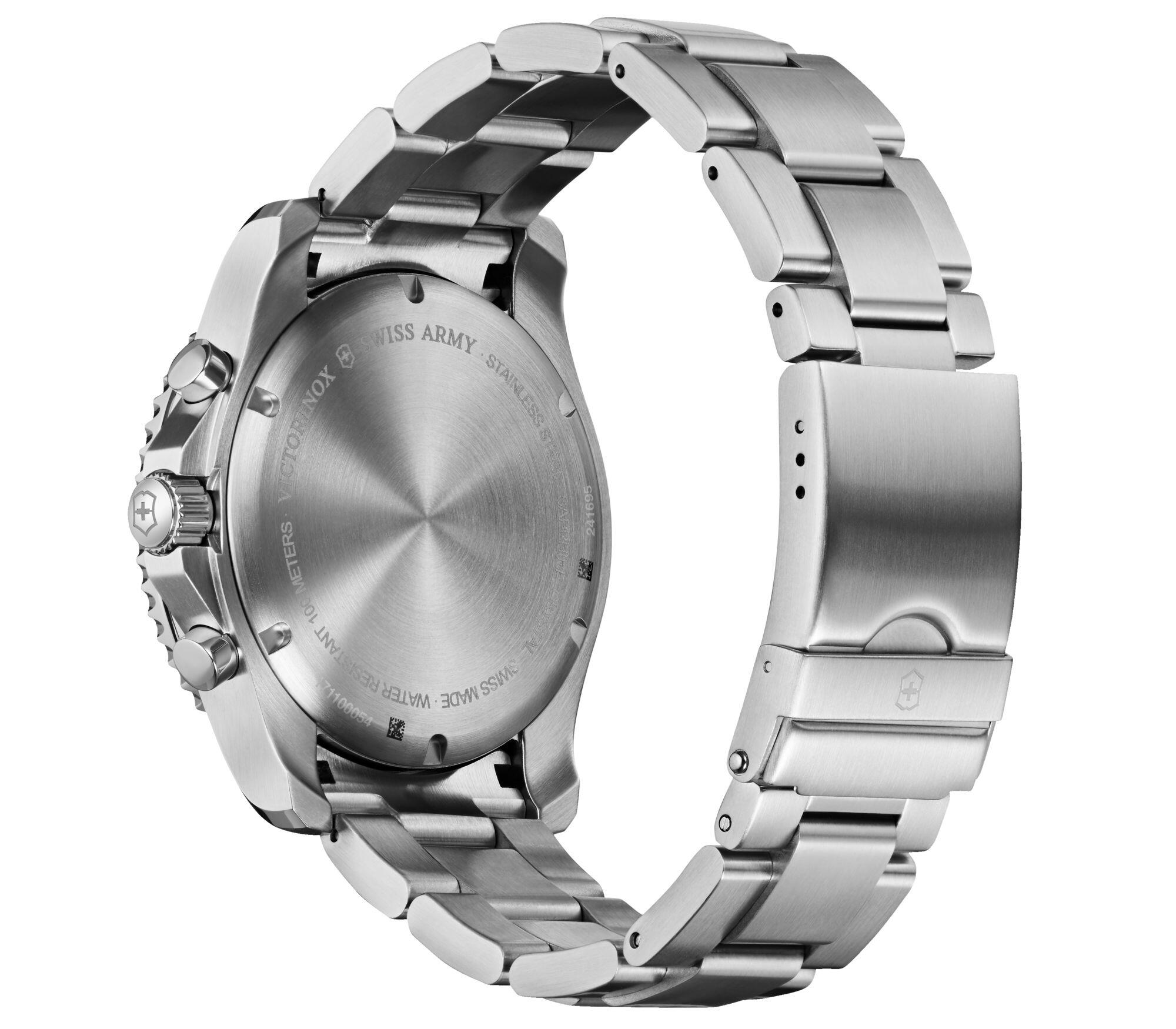 Relógio Victorinox Masculino Prata - Cronógrafo Maverick - 241695