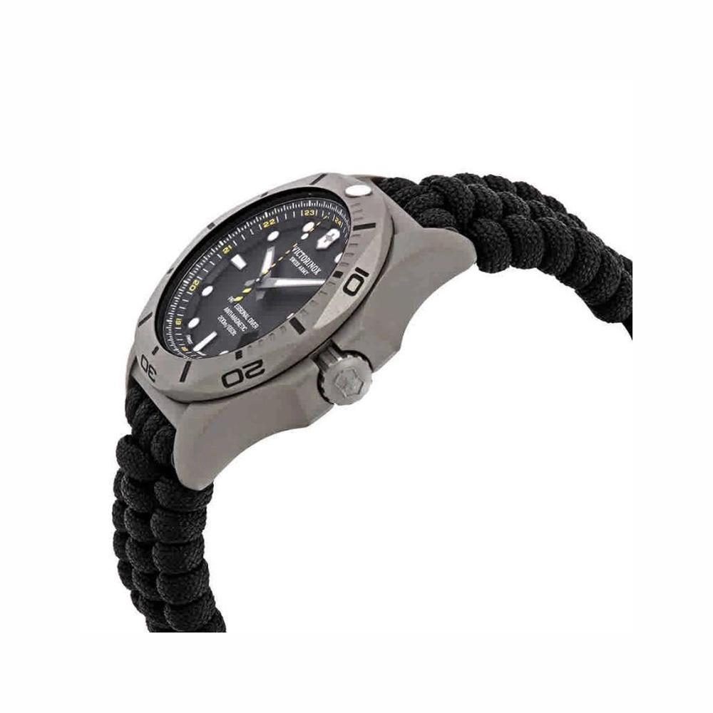 Relógio Victorinox Masculino Preto - I.N.O.X. Professional Diver Titanium - 241812