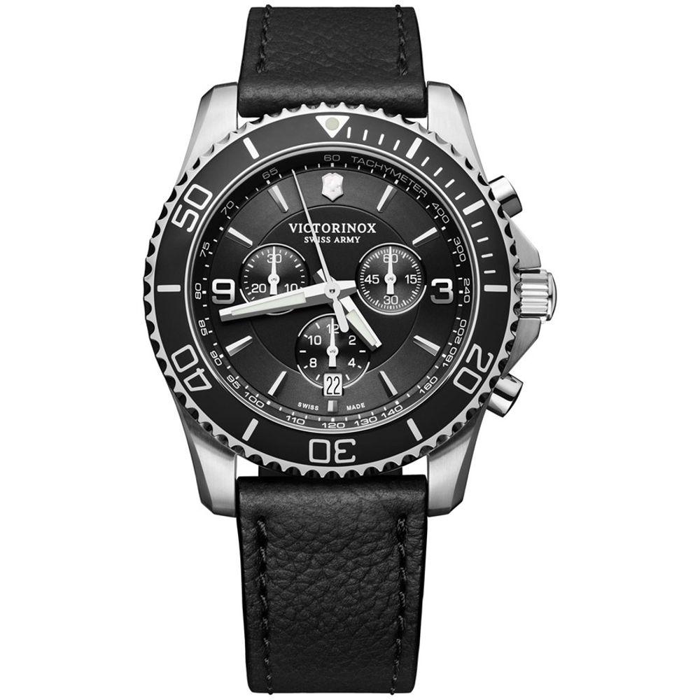 Relógio Victorinox Masculino Preto - Maverick Crhonograph - 241864