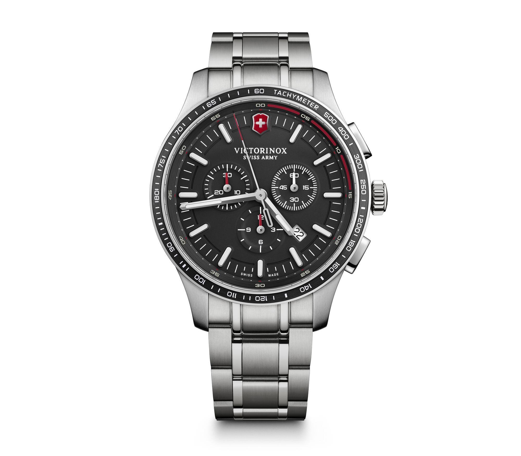 Relógio Victorinox Masculino Preto - VSA Alliance Sport - 241816