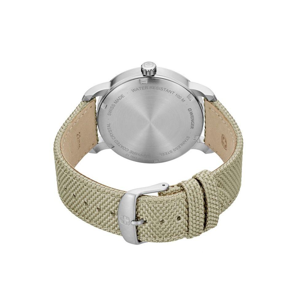 Relógio Wenger Masculino Bege - Attitude - 01.1541.111