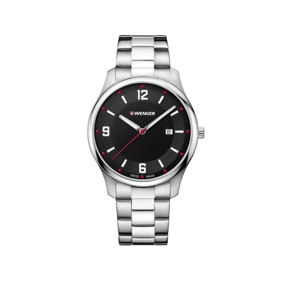 Relógio Wenger Masculino Preto - Urban Classic - 11.741.108