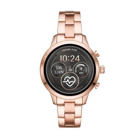 Smartwatch Michael Kors Feminino Runway Rosé