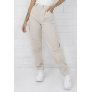 Calça Jeans Slouchy Naomi Bege Pkd