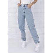Calça Slouchy Jeans Claro Naomi Pkd