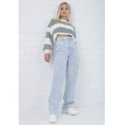 Calça Jeans Wide Leg Pietra Pkd