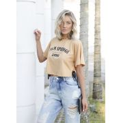T-shirt Eco Pkd Palm Springs Amarela