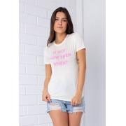 T-shirt If Not Now Pkd Baunilha