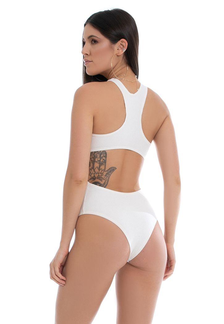 Body Pkd Costas Abertas Off White
