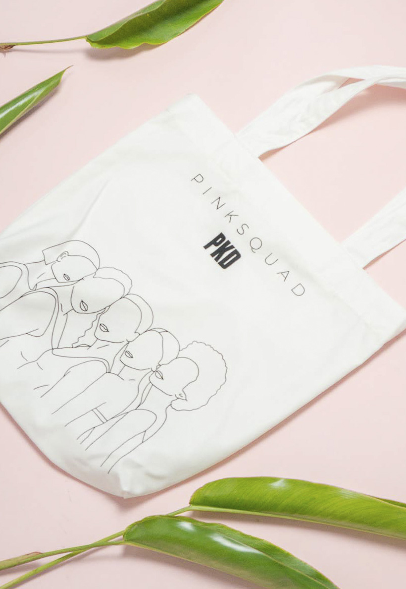 Bolsa Eco Bag PinkSquad Pkd
