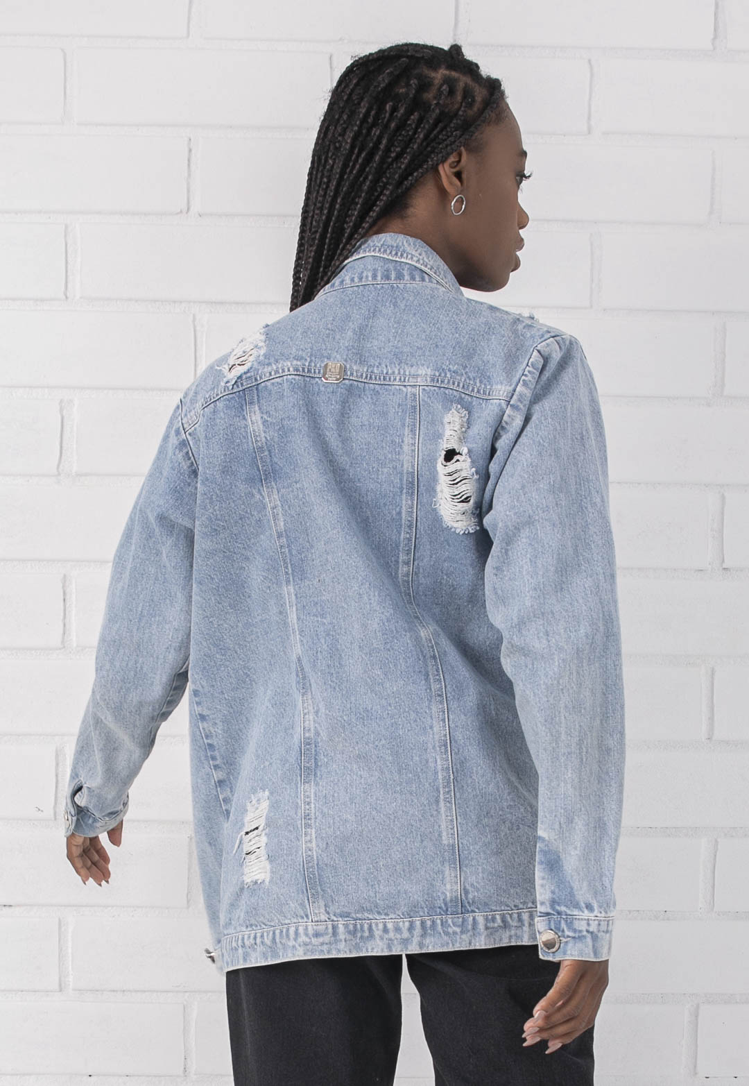 Jaqueta Oversized Pkd Jeans