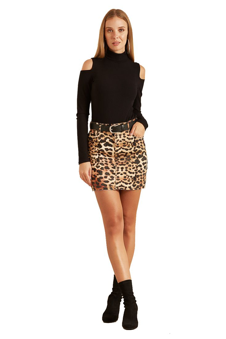 Saia Pkd Animal Print