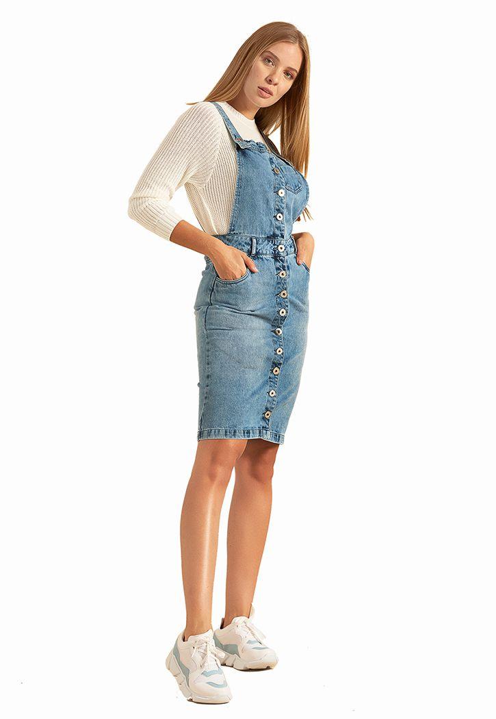 Salopete Midi Pkd Jeans
