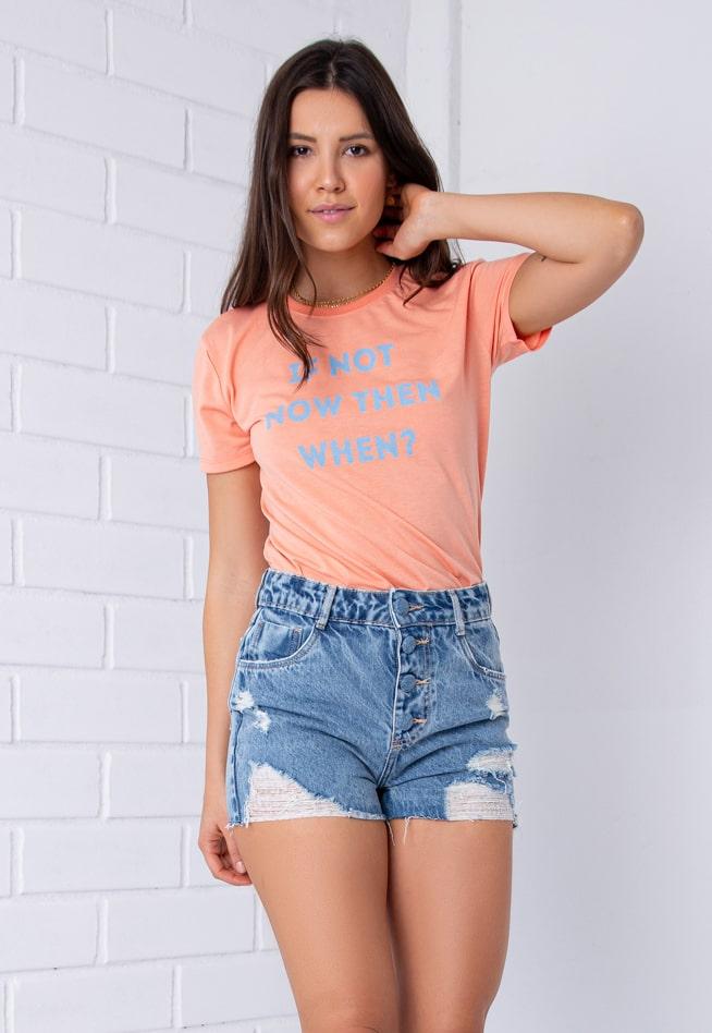 Shorts Com Botões Encapados Pkd Jeans