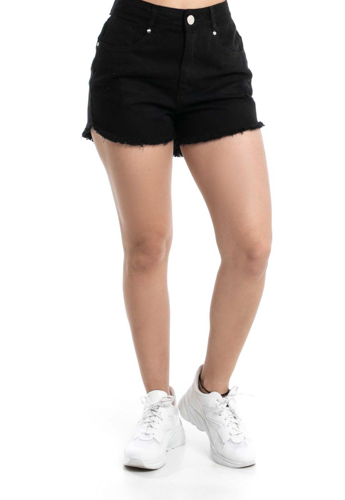 Shorts Pkd Hot Pant Preto