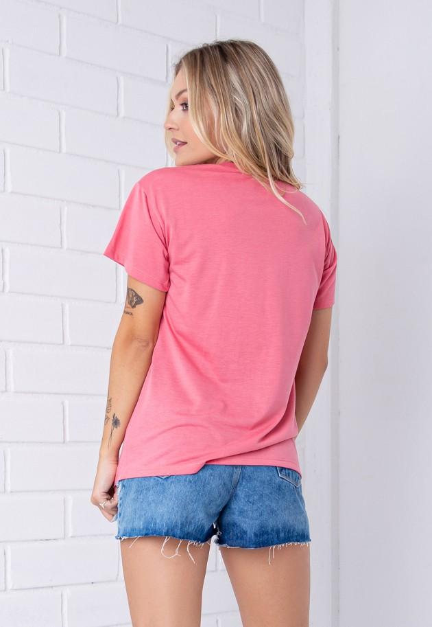 T-shirt Beautiful Life Pkd Rosa