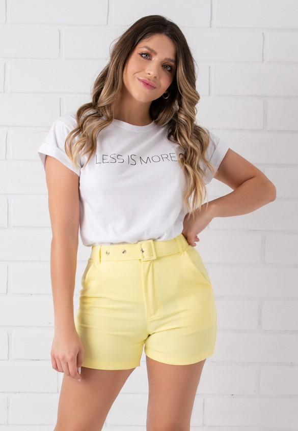 T-shirt Pkd Less Is More Branca