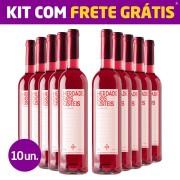 Kit 10 Garrafas - Herdade Dos Coteis Rosé 2018